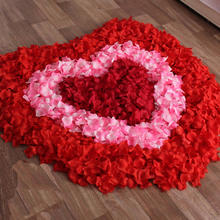 满30元包邮结婚婚房装饰花瓣婚床布置手抛花瓣无纺布花瓣