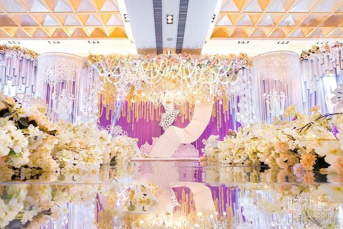 【小稻婚礼】— 粉色室内主题婚礼
