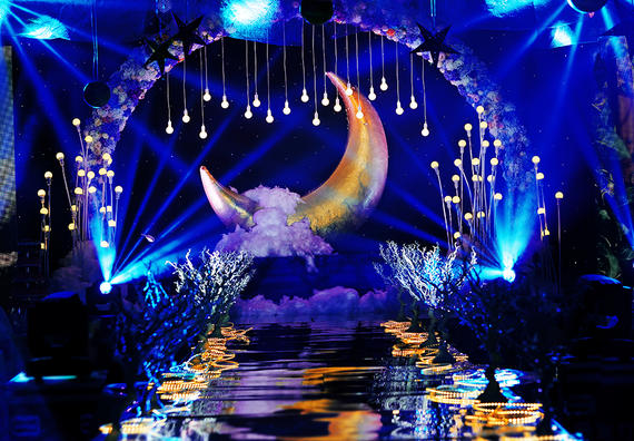 【梦工场婚礼】浩瀚星辰 --蓝色浪漫星空主题套系