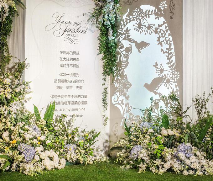 《梦幻花园仙境》森系复古高端仙气婚礼