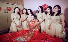 昆明新娘半程跟妆婚礼跟妆新娘妆送伴娘妆妈妈妆