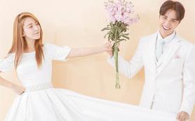唯美韩式系列4服4造婚纱照