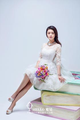 欢乐颂樊胜美蒋欣婚纱礼服款—魔镜高级婚纱礼服设计