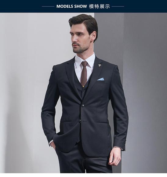C&C洋服  |  商务、新郎婚纱礼服——内敛