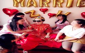 昆明新娘全程跟妆新娘妆婚礼化妆送妈妈妆伴娘妆