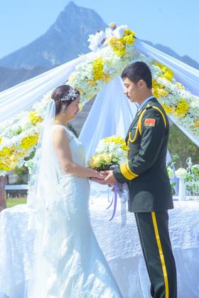 婚礼摄影【壹堂影像】时间,见证一对新人走向新的开始