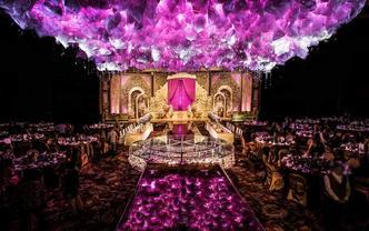 花房轻歌——紫色调梦幻婚礼