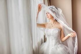 【婚礼跟拍】每个女孩都有一张最美丽的侧脸