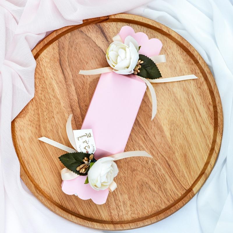 粉色系大号糖果盒 喜糖盒可装烟 创意浪漫婚礼纸盒喜
