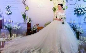 昆凌款婚纱—Hello魔镜高级婚纱礼服设计定制