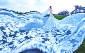 《新娘最爱》唯美系婚纱 每个女孩都有一个公主梦