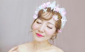 明月时尚新娘造型   婚礼全程跟妆 资深化妆师