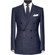 男士西装礼服定制全毛料一件西装+一条西裤