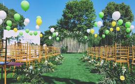 【爱温蒂】·户外室内结合小清新森系婚礼