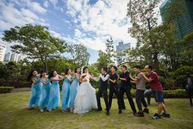 婚礼纪实摄影——牵着我的手,闭着眼睛走你也不会迷路
