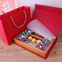 喜糖成品巧克力礼盒订婚喜糖盒婚礼伴手礼结婚糖果回礼袋