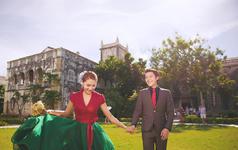 西安爱久久婚纱摄影内外多主题基地套系4999元