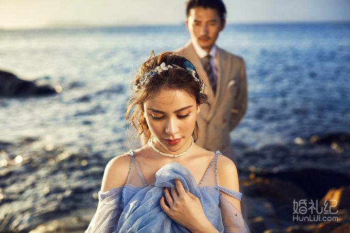 2017浪漫海景拍摄系列——名匠口碑婚纱摄影