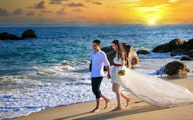 (爱时光摄影)玫瑰海岸 因为有你才美好