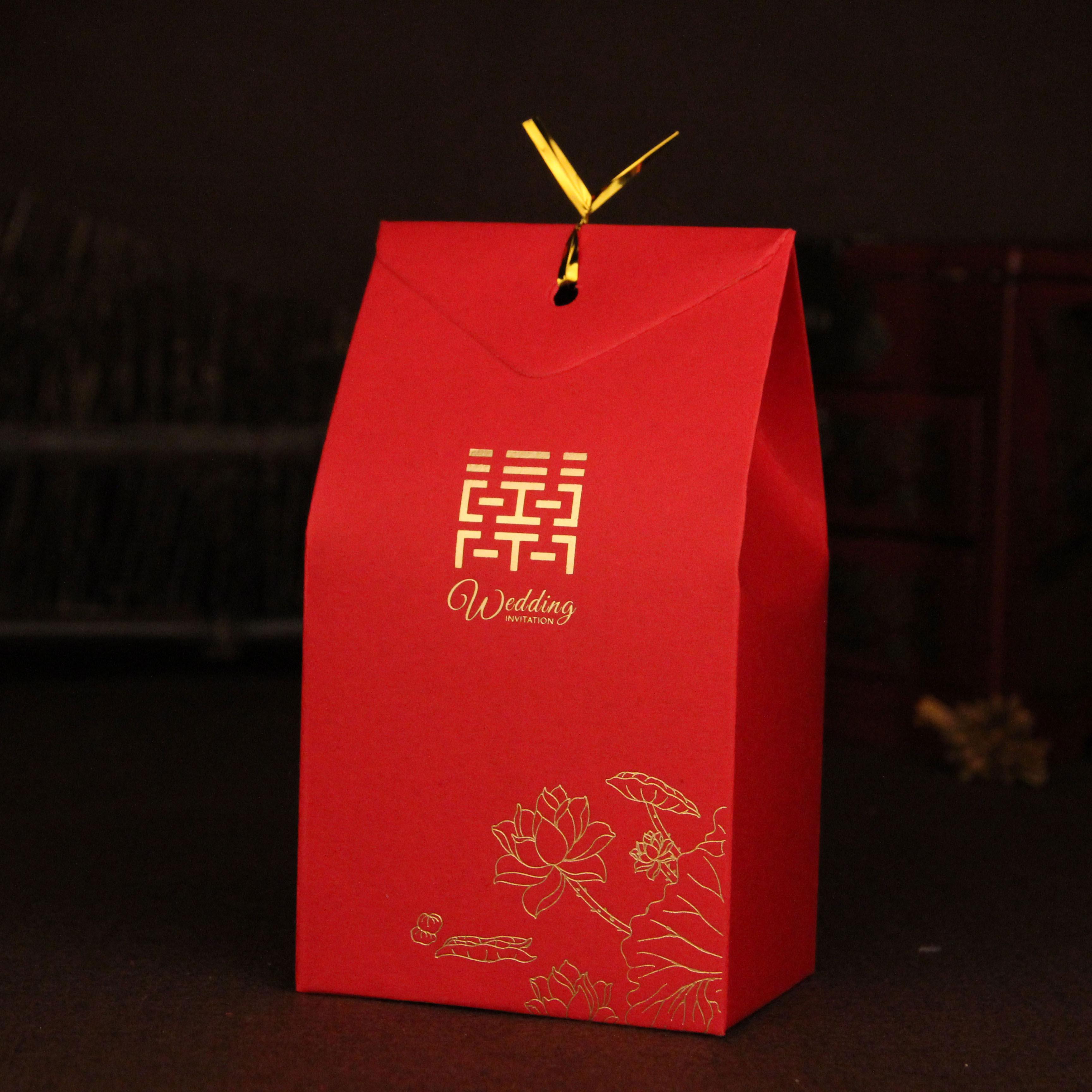 结婚婚庆用品喜糖盒子批发 创意喜糖包装盒喜糖盒包装