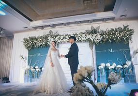 【威柠旺斯】小清新室内婚礼|墨奈的花园