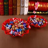 39元包邮加厚塑料水果花生盘干果巧克力瓜子烟糖果盘