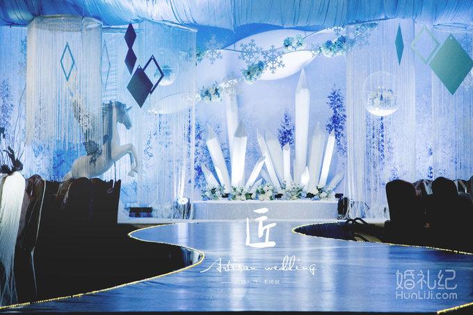 s型t台婚礼效果图