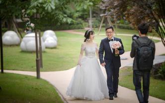 【婚礼跟拍】首席档-双机位全程跟拍