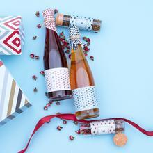 【花肆礼盒】生双成对,玫瑰酒、青梅酒、2罐花茶