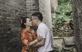 YYG-首席婚礼摄影师单机位拍照