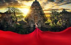 巴厘岛♥畅拍2天热卖爆款——骆驼风情+乌布王宫