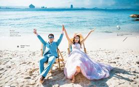 【三亚旅拍】包接机包住宿  浪漫椰林海边
