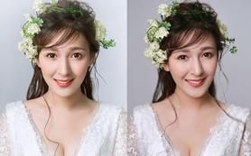 云姐造型Modeling 跟妆1造型唯美定制妆容