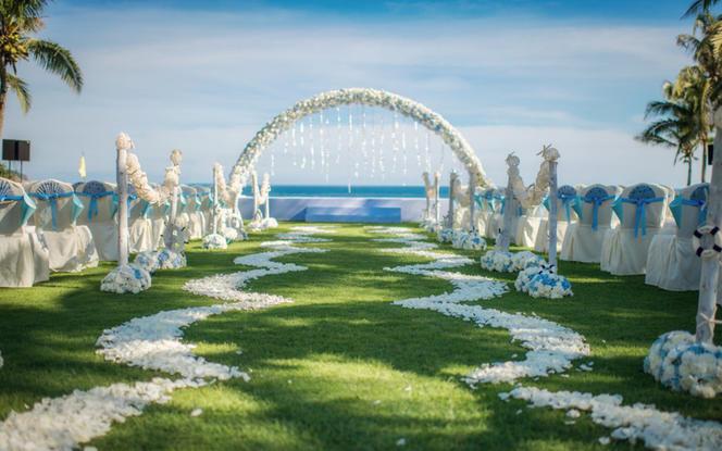 爱完美婚礼丨蓝色大海的传说