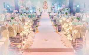 【维度】清新粉蓝 静谧蓝 夏日婚礼 小型婚礼之选