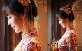 VIKY新娘全天跟妆+摄影+送妈妈妆+送新娘甲色