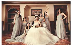 全天新娘跟妆+即拍即有无限张+婚纱礼服3套