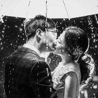 【夜色倾心】烟花雨景  时尚创意街道剧情设计拍摄