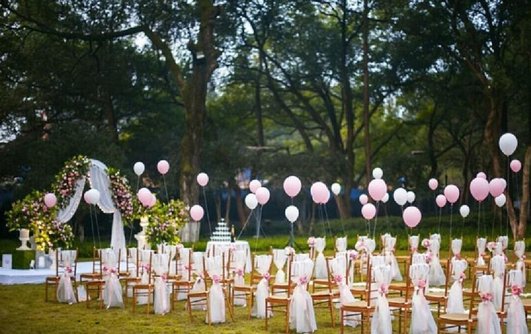 【优悦婚礼】室外草坪婚礼