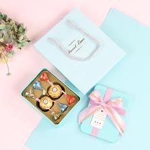 臻忆美 欧式婚礼马口铁喜糖盒含糖 结婚明治费列罗好时成品喜糖