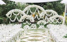 【缇爱沫】温馨暖白色户外婚礼