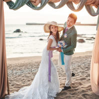 海景+教堂+街拍+水下摄影=特惠婚纱照来袭