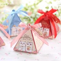 结婚喜糖盒 创意喜糖礼盒包装纸盒子喜糖袋个性糖盒婚礼婚庆用品