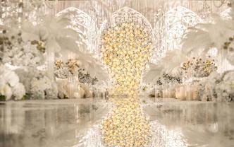 【大成唯爱】婚礼纪收藏冠军 超值性价比香槟色案例