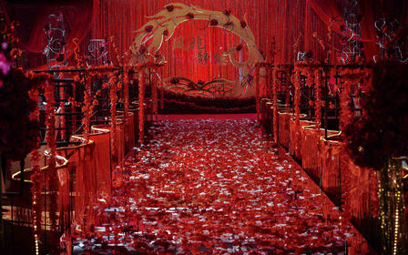 【TBO】红金新中式喜庆《凤兆静候》