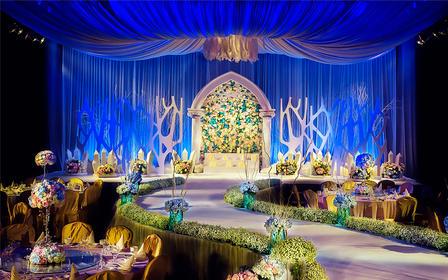 【王妃婚礼策划】——蓝色/云端