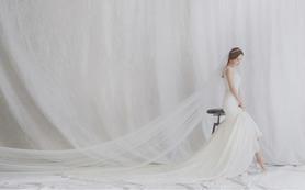 豪华婚纱礼服(三件)+婚礼全程跟妆|首席老师
