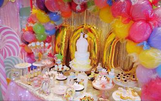 童话系列 |无与伦比的可爱 童话梦幻婚礼甜点台