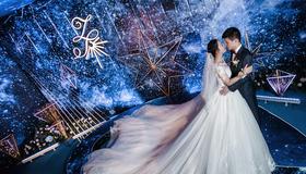 【婚礼布置】 星空 银河 宝蓝色