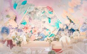 MLILI--《水彩梦中的婚礼》小清新婚礼